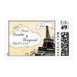 Oh Paris Wedding Postage Stamp