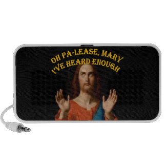 Oh Please Mary I ve Heard Enough Notebook Speaker