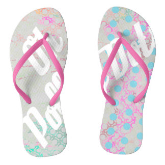 Oh Polly Dots Flip Flops