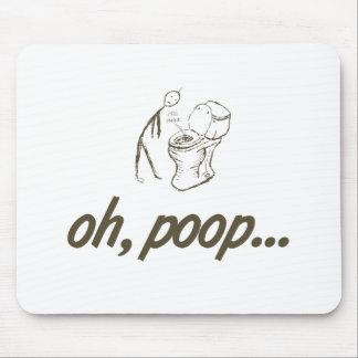 oh, poop... mousepad