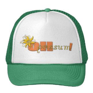 Oh Possum Logo Hat