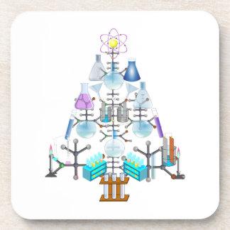 Oh química, oh árbol del químico posavasos de bebidas