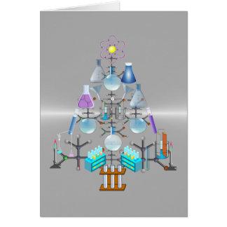 Oh química, oh árbol del químico tarjeta pequeña