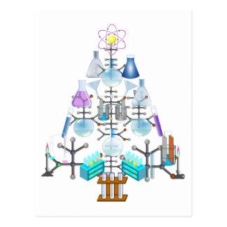 Oh química, oh árbol del químico tarjeta postal