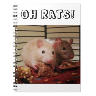 ¡Oh ratas! Cuaderno