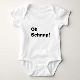 oh schnap! baby bodysuit