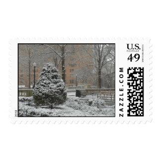 Oh sello del árbol de navidad