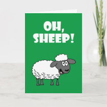 Oh, Sheep! You're 75! Funny 75th Birthday Card