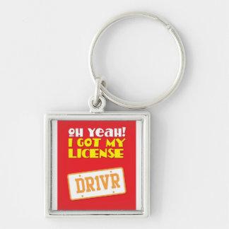 ¡Oh sí ¡Conseguí mi licencia DR1VER Llaveros