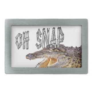 OH SNAP - Angry Gator Belt Buckle