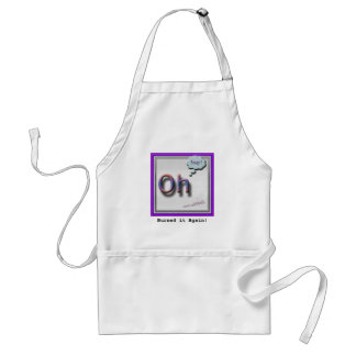 """""""Oh Snap!"""" Apron"""