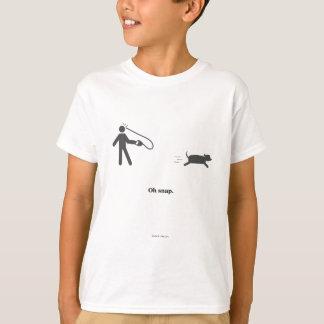 Oh Snap! (Black) T-Shirt
