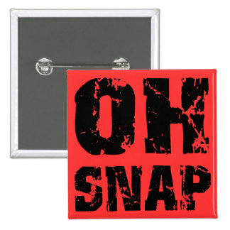 Oh snap 2 inch square button