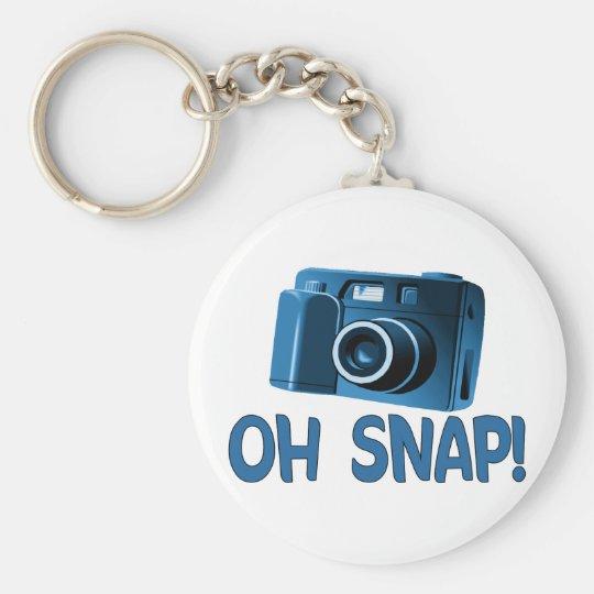 Oh Snap Camera Keychain