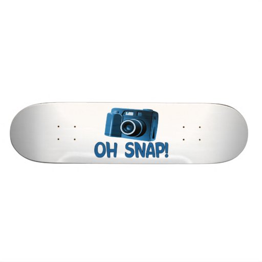 Oh Snap Camera Skateboard