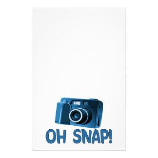 Oh Snap Camera Stationery