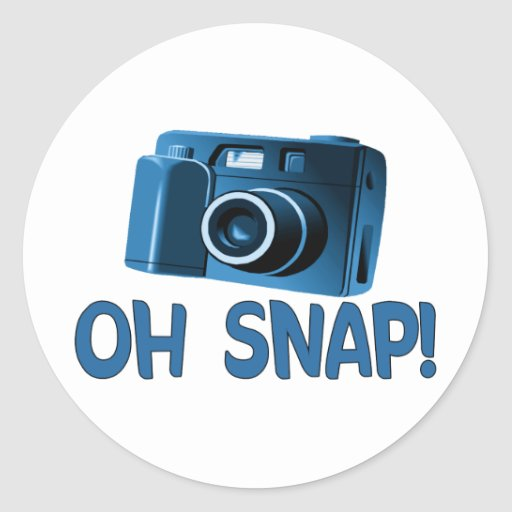 Oh Snap Camera Stickers