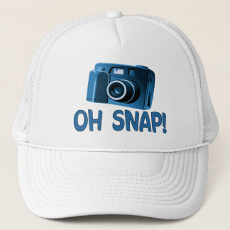 Oh Snap Camera Trucker Hat