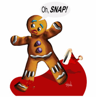 OH SNAP! Cookie Party Table Centerpiece Standing Photo Sculpture