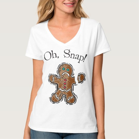 Oh, Snap Cookie T-Shirt