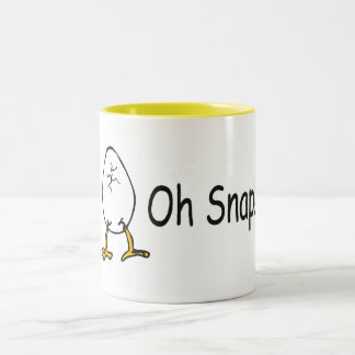 Oh Snap Easter Egg 2 Two-Tone Coffee Mug