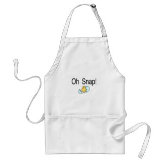 Oh Snap Easter Egg Adult Apron