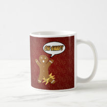 Oh Snap Funny Christmas Gingerbread Man Broken Leg Coffee Mug