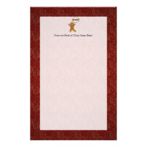 Oh Snap! Funny Gingerbread Man Stationery