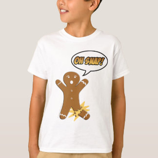 Oh Snap! Funny Gingerbread Man T-Shirt