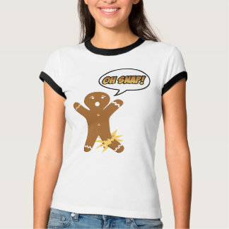 Oh Snap Funny Holiday Christmas or Thanksgiving T-Shirt