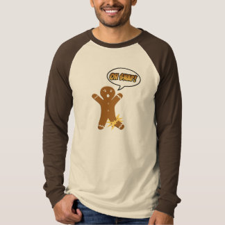 Oh Snap! Funny Holiday Gingerbread Man T-Shirt