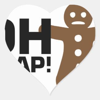 Oh Snap! Heart Sticker