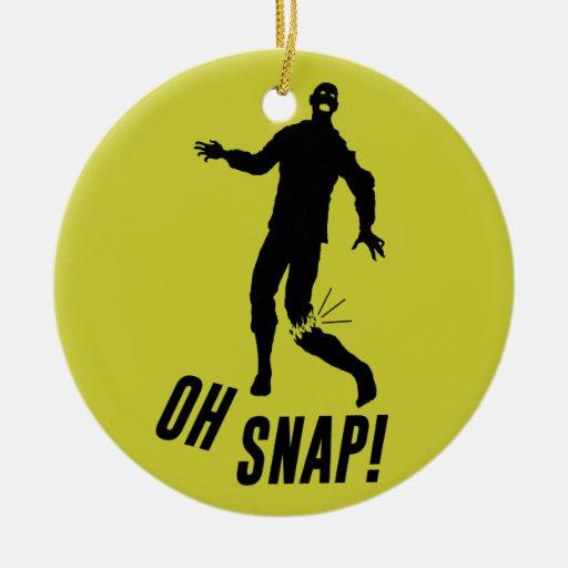 Oh Snap! Christmas Tree Ornaments
