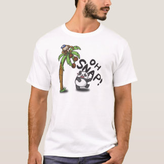 Oh Snap Panda & Monkey T-Shirt
