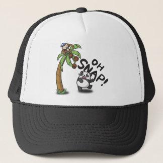 Oh Snap Panda & Monkey Trucker Hat