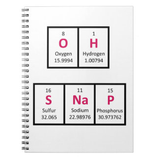 Oh Snap - Periodic Table Notebook