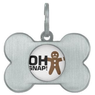 Oh Snap! Pet Name Tag