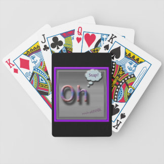 Oh Snap Playing Cards