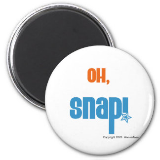 Oh, Snap Refrigerator Magnets
