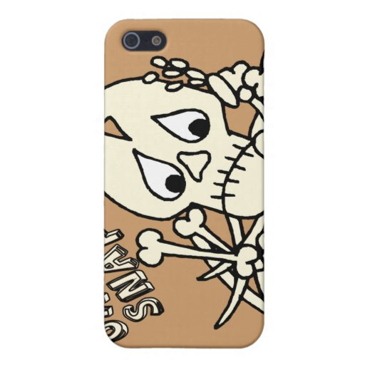 Oh Snap Skeleton Case For iPhone 5