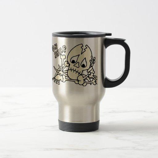 Oh Snap Skeleton Mug