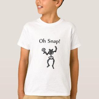 Oh Snap! (Skeleton) T-Shirt