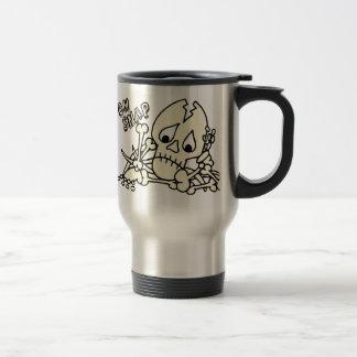 Oh Snap Skeleton Travel Mug