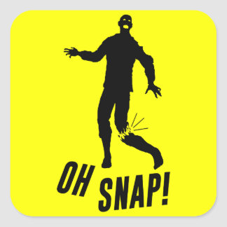 Oh Snap! Square Sticker