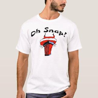 Oh Snap Stuck Santa T-Shirt