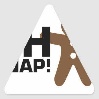 Oh Snap! Triangle Sticker