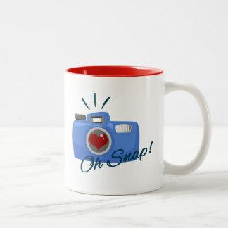 Oh Snap Two-Tone Coffee Mug