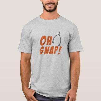 Oh Snap! Wish Bone Thanksgiving Men's T-Shirt