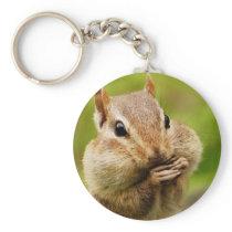 Oh So Cheeky Chipmunk Keychain