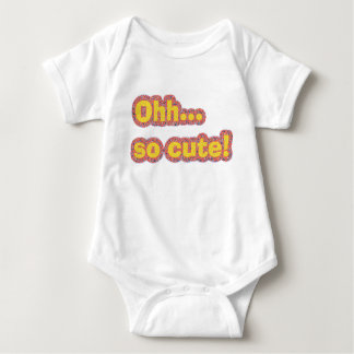 Oh So Cute Baby Bodysuit